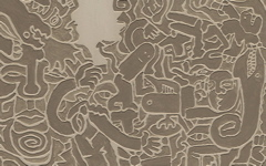 High-resolution desktop wallpaper Tribal Relief by benbron