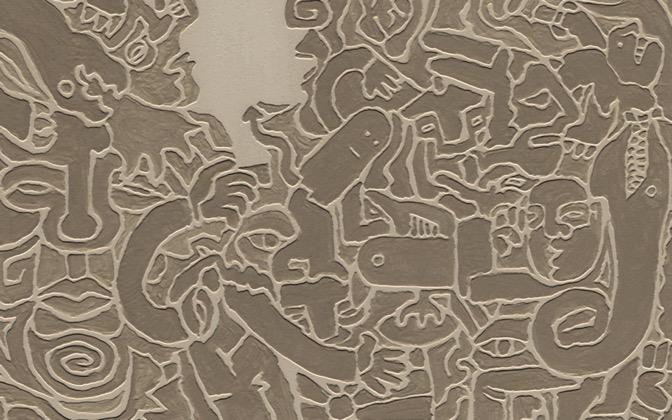 High-resolution desktop wallpaper Tribal Relief by benbron