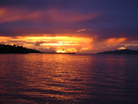 High-resolution desktop wallpaper English Bay Sunset by Herb