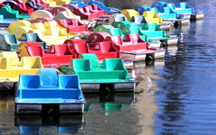High-resolution desktop wallpaper Paddle Boats by chickenwire
