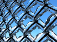 High-resolution desktop wallpaper Ice Cage by Manu Pigeon