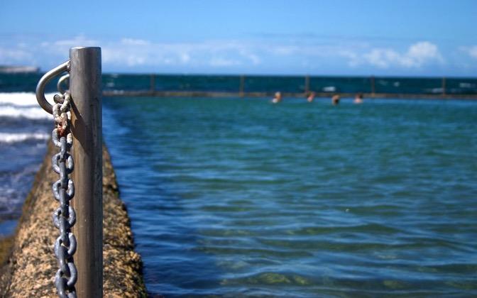 High-resolution desktop wallpaper Beach Pool Guard Rail by ardin