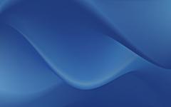 High-resolution desktop wallpaper Blue Crystal 7 by Wolfgang Bartelme