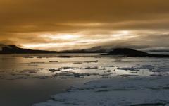 High-resolution desktop wallpaper Arctic Sunrise by chris chang
