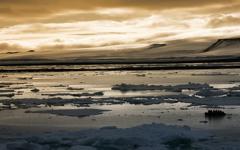 High-resolution desktop wallpaper Arctic Sunset by chris chang