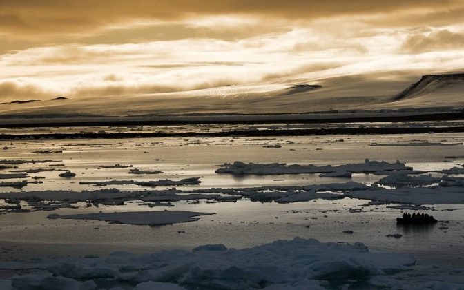 High-resolution desktop wallpaper Arctic Sunset by chris chang