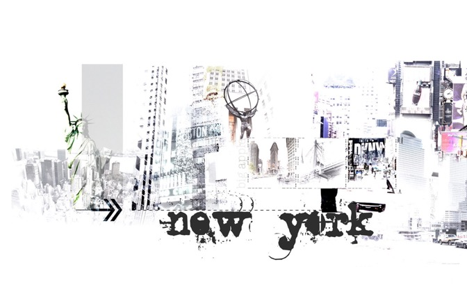 High-resolution desktop wallpaper New York by jocopix