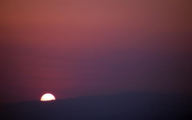High-resolution desktop wallpaper California Sunset by pixelmudphotos