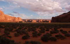 High-resolution desktop wallpaper Monument Valley by meckimac