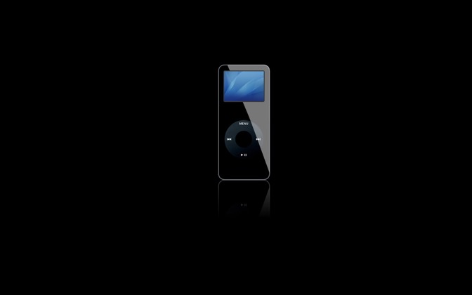 High-resolution desktop wallpaper iPod nano by Improv, Pastence