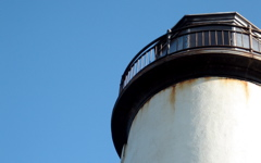 High-resolution desktop wallpaper Coquille River Lighthouse by Geoff Puryear