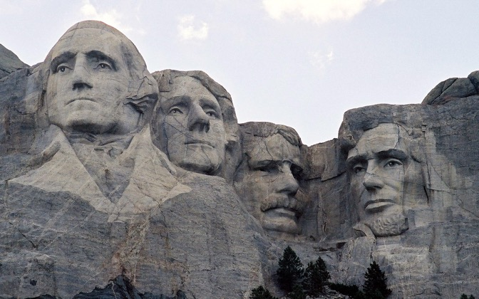 High-resolution desktop wallpaper Mount Rushmore by Jason
