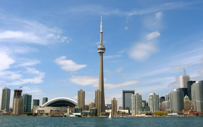 High-resolution desktop wallpaper Toronto from the Water by anand