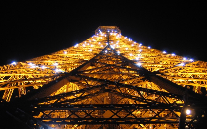 High-resolution desktop wallpaper Tour Eiffel Scintillante by fanzy