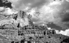 High-resolution desktop wallpaper Zuni Rock by hopstah
