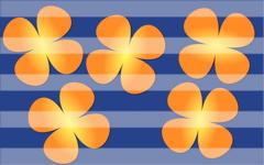 High-resolution desktop wallpaper Quatterflies On Blue by synaptic gap