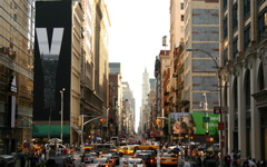 High-resolution desktop wallpaper New York Streets by Veebas