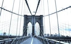 High-resolution desktop wallpaper Brooklyn Bridge by Veebas