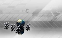 High-resolution desktop wallpaper Globe Hop by Christopher Watson