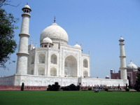 High-resolution desktop wallpaper Taj Mahal by sulawesi17