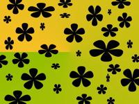 High-resolution desktop wallpaper Black Flowers by Lathe