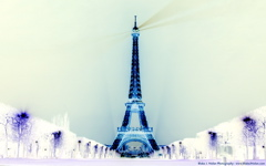 High-resolution desktop wallpaper Eiffel Towered by Blake J. Nolan