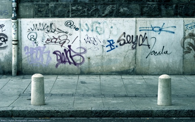 High-resolution desktop wallpaper Geneva Graffiti by Blake J. Nolan