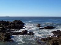 High-resolution desktop wallpaper Ocean Rocks by Lathe