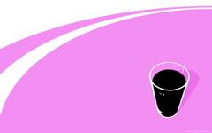 High-resolution desktop wallpaper Black Milk Pink by Daniel Goffin