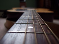 High-resolution desktop wallpaper Guitar Strings by Peter Schrader