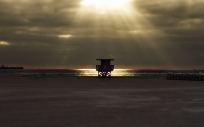 High-resolution desktop wallpaper South Beach by matt mosher