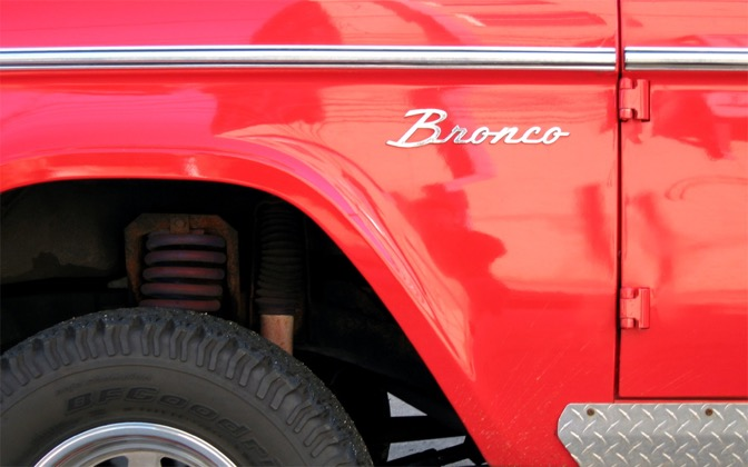 High-resolution desktop wallpaper Ford Bronco by chickenwire
