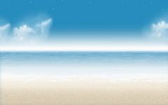 High-resolution desktop wallpaper Beach by dimage