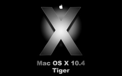 High-resolution desktop wallpaper Mac OS X Tiger by lainsnavi