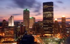 High-resolution desktop wallpaper Downtown Pittsburgh by Novaurora