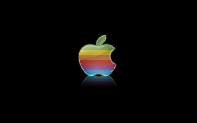 High-resolution desktop wallpaper Classic Apple Reinvented by Sean
