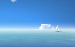 High-resolution desktop wallpaper Island Boat by dimage