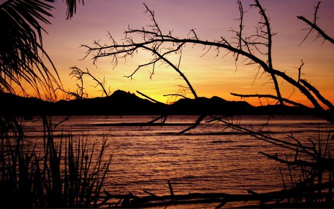 High-resolution desktop wallpaper Seychelles Sunset by meckimac