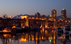 High-resolution desktop wallpaper Burrard Bridge by G23