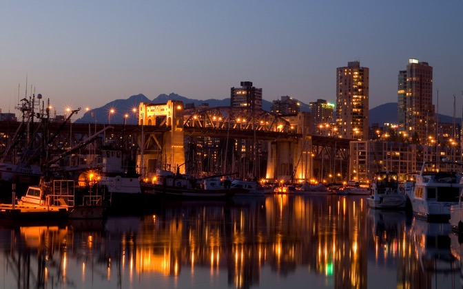 High-resolution desktop wallpaper Burrard Bridge by graham.fleming@gmail.com