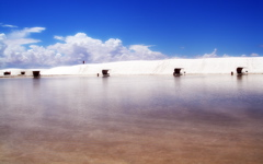 High-resolution desktop wallpaper White Sands New Mexico by Sunira