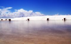 High-resolution desktop wallpaper White Sands New Mexico by Sunira
