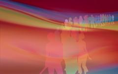 High-resolution desktop wallpaper Disco People by SChallis