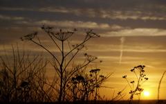 High-resolution desktop wallpaper Sunset over Stockholm by Daniel de Oquiñena