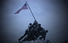 High-resolution desktop wallpaper Iwo Jima Evening by michael@michaelanthonyphotography.net