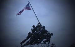 High-resolution desktop wallpaper Iwo Jima Evening by michael
