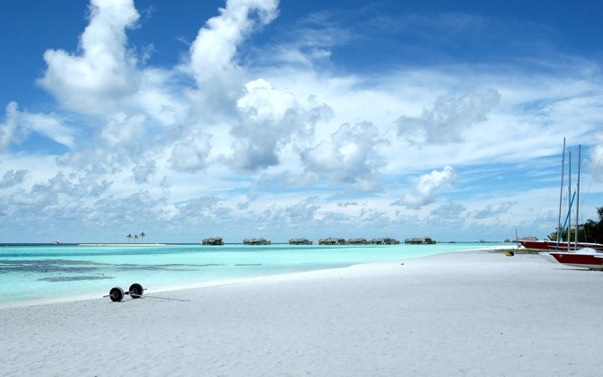 High-resolution desktop wallpaper The Maldives by nattu