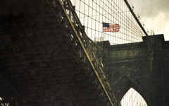 High-resolution desktop wallpaper Brooklyn Bridge by Jerome Deboudt