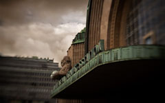 High-resolution desktop wallpaper Helsinki Railway Station by Steven Miller