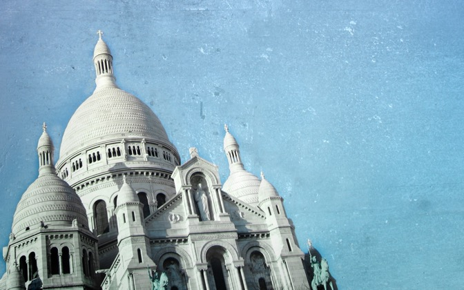 High-resolution desktop wallpaper Sacre Coeur by Benoit Vanneuville- BeWa